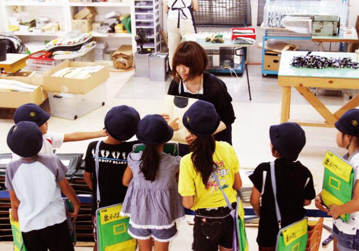 子供たちそれぞれにたった一つのランドセルを。