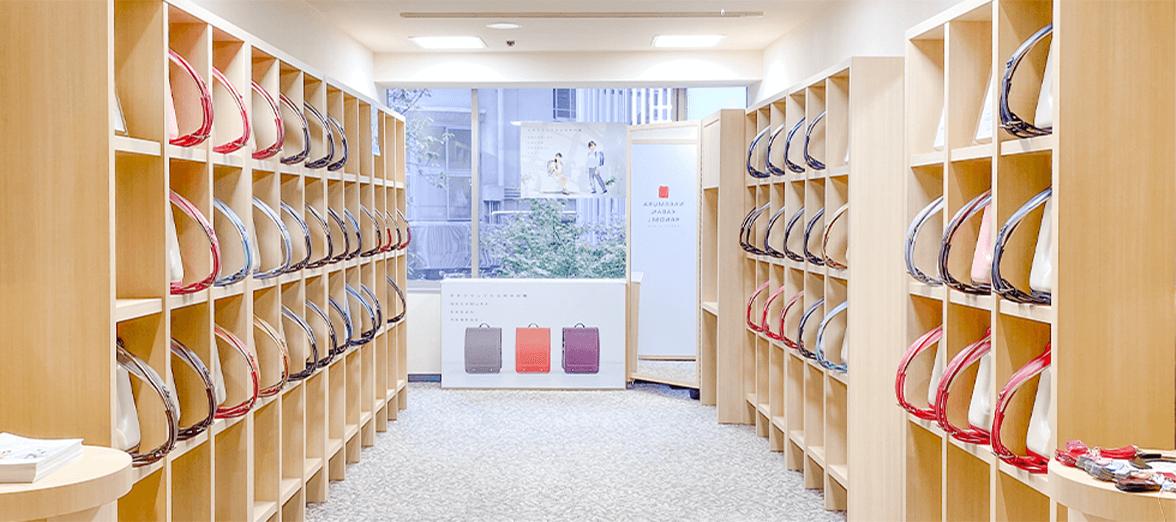東京銀座店の店内写真