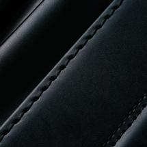 No.3 ベルエース ベーシック ランドセル 黒 ステッチ(糸)の色