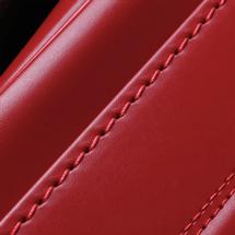 No.3 ベルエース ベーシック ランドセル 赤 ステッチ(糸)の色