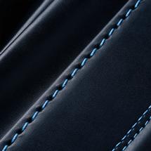 No.6 牛革ボルサ パステルクラシック ランドセル 紺/ブルー ステッチ(糸)の色