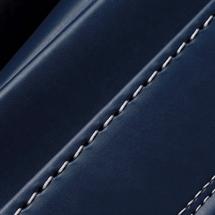 No.6 牛革ボルサ パステルクラシック ランドセル インディゴブルー ステッチ(糸)の色