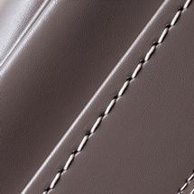 No.6 牛革ボルサ パステルクラシック ランドセル グレー ステッチ(糸)の色
