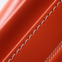 No.6 牛革ボルサ パステルクラシック ランドセル アプリコット ステッチ(糸)の色