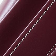 No.6 牛革ボルサ パステルクラシック ランドセル ボルドー ステッチ(糸)の色