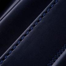 No.7 牛革ボルサ ベーシック ランドセル 紺 ステッチ(糸)の色