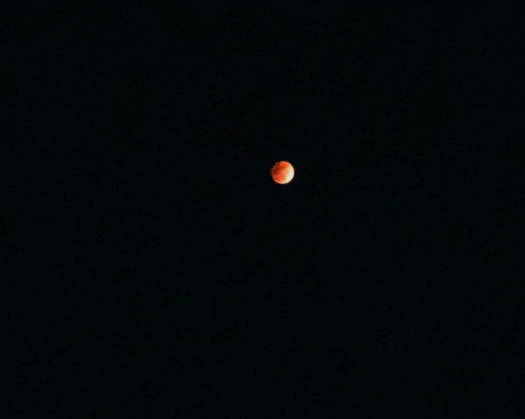 今夜の月は見ましたか?