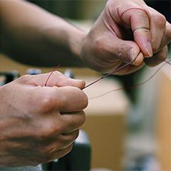 中村鞄ランドセルの糸