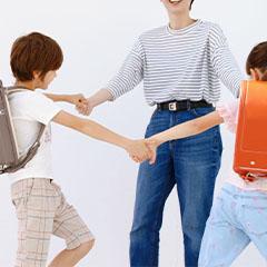 中村鞄ランドセルカタログ撮影の風景