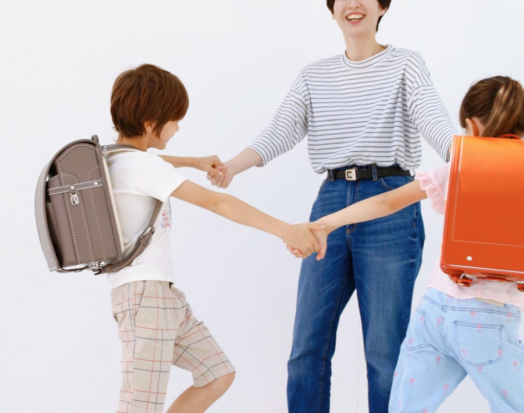 中村鞄ランドセルカタログ撮影の風景1
