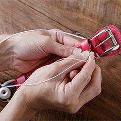 中村鞄ランドセル職人の手縫い