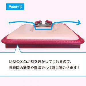 U型の凹凸1
