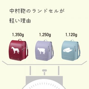 中村鞄のランドセルが軽い理由⚖