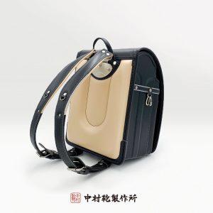 中村鞄のランドセル / 黒グリーン