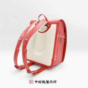 ハートモデル カーマインレッド / 中村鞄のランドセル